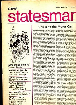 NEW STATESMAN. Friday 13 May 1966