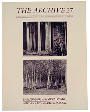 The Archive 27 Paul Strand and Ansel: ADAMS, Ansel &