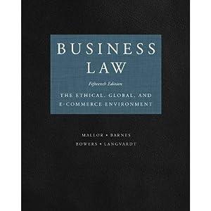 Business Law 15th edition (eBook): Jane Mallor, A. James Barnes, L. Thomas Bowers, Arlen Langvardt