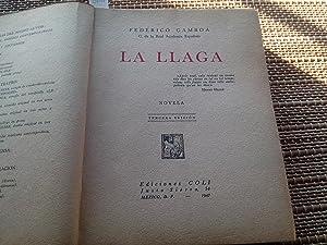 La llaga (Novela): Gamboa, Federico (C. de la Real Academia Española)