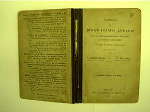 Denkmäler der Älteren deutschen Litteratur,: Bötticher, Gotthold (Hrsg.)