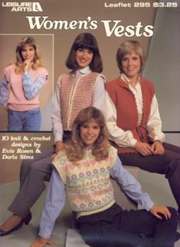 Women's Vests Leaflet 295: Evie Rosen &