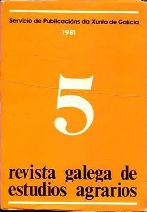 REVISTA GALEGA DE ESTUDIOS AGRARIOS. Nº 5.