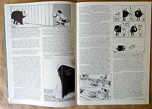 Schtroumpf-Les Cahiers de La Bande Dessinée. N°14/15. Spécial Hergé.