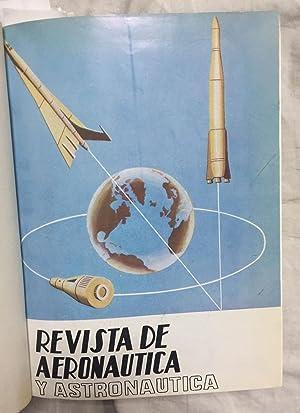 REVISTA DE AERONAUTICA Y ASTRONAUTICA. Año 1968. Completo