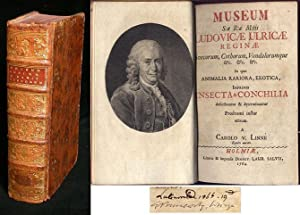 Museum s:æ r:æ m:tis Ludovicæ Ulricæ reginæ: LINNÉ, CARL von.