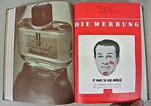 DIE WERBUNG. Die Monatliche Darstellung der Werbung als Wirtschaftsaufgabe, Jahrgang 1950. Gebunden...