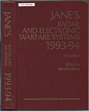 JANE'S RADAR AND ELECTRONIC WARFARE SYSTEMS, 1993-94, Fifth Edition.