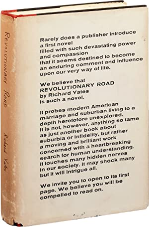 Revolutionary Road (First Edition, review copy): Yates, Richard