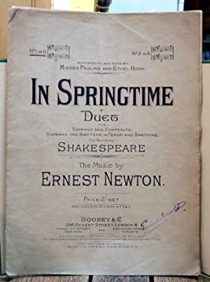 In Springtime : Duet for Soprano and: Shakespeare, William; Music