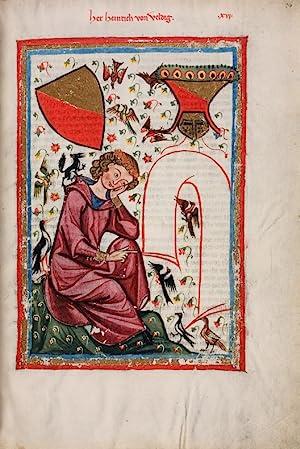 Die Manessische Liederhandschrift. Faksimile in farbigem Lichtdruck.: Codex Manesse.
