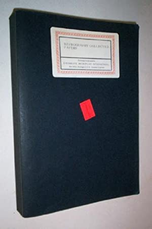 Reprography Collected Papers.: University Microfilms.
