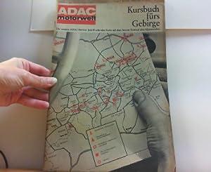 ADAC motorwelt. Januar 1964 - Jahrgang 17 - Heft 1. Kursbuch fürs Gebirge.: Zeitschrift: