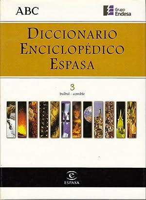 DICCIONARIO ENCICLOPÉDICO ESPASA 3: ALONSO CAMPOS, JUAN