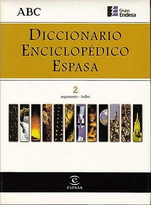 DICCIONARIO ENCICLOPÉDICO ESPASA 2: ALONSO CAMPOS, JUAN