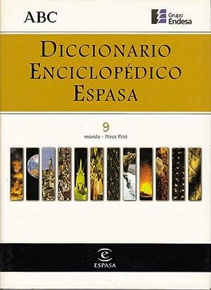 DICCIONARIO ENCICLOPÉDICO ESPASA 9: ALONSO CAMPOS, JUAN