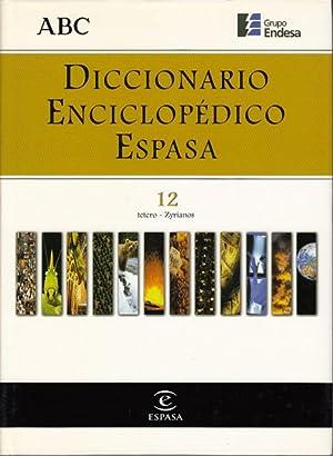 DICCIONARIO ENCICLOPÉDICO ESPASA 12: ALONSO CAMPOS, JUAN