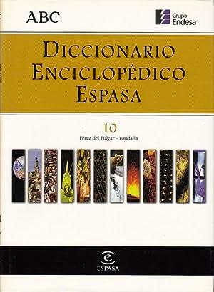 DICCIONARIO ENCICLOPÉDICO ESPASA 10: ALONSO CAMPOS, JUAN