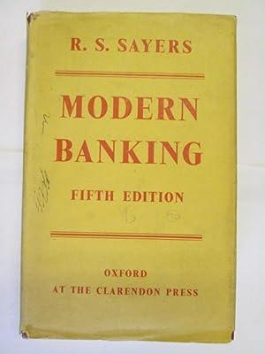 MODERN BANKING: Sayers, R.S.