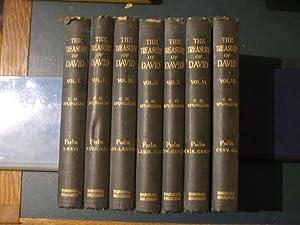 The Treasury of David: containing an original: Spurgeon, C. H.