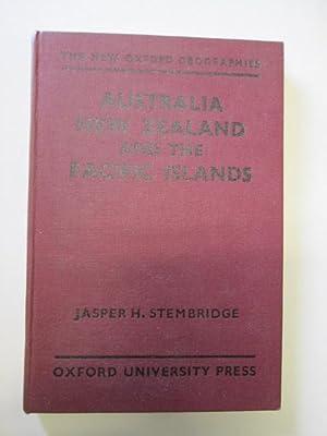 Australia, New Zealand and the Pacific Islands: jasper H. Stembridge