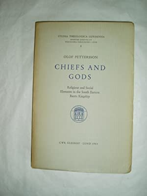 Chiefs and Gods : Religious and Social: Pettersson, Olof