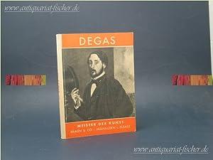 Edgar Degas. [Hrsg. v. John Rewald], Meister: Degas, Edgar: