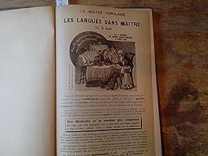 Le maitre populaire of les langues sans maitre en 4 mois. Méthode.: Bouge, Xavier (Officier de l ...