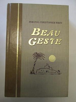 BEAU GESTE.: Wren, Percival Christopher
