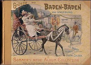 Grüsse aus Baden-Baden und Umgebung, mit Text von Wilhelm Harder, nach Original Aufnahmen von ...