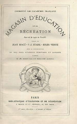 Magasin d'education et de récreation. Journal de: VERNE Jules].