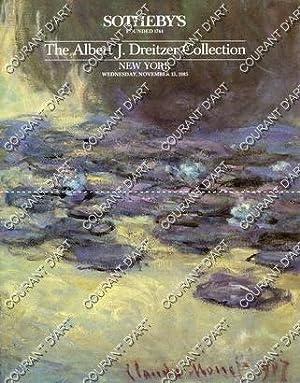 THE ALBERT J. DREITZER COLLECTION. [COROT. BOUDIN.: YORK AVENUE