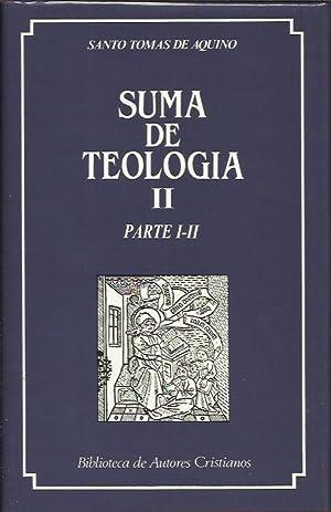Suma de Teologia II parte I-II: Santo Tomás de