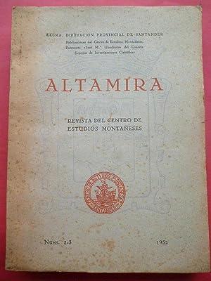 Imagen del vendedor de ALTAMIRA. Revista de Estudios Montañeses. Núms. 2 y 3. 1952. a la venta por Carmichael Alonso Libros