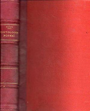 ELEMENTOS DE HISTOLOGÍA NORMAL Y DE TÉCNICA: Ramón y Cajal,