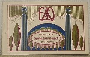 Paris 1925. Expositions des Arts Décoratifs. 20 cartes postales.