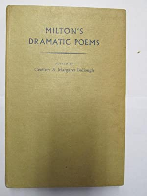 Seller image for Milton's Dramatic Poems for sale by Goldstone Rare Books