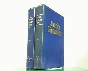 Deutsche Monatshefte 4. Jahrgang 1928 Erstes und Zweites Halbjahr in 2 Büchern komplett !: Deutsche...