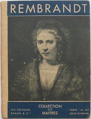 Rembrandt.: Fierens (Paul)