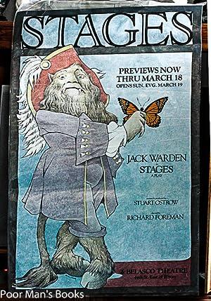 "STAGES."" OFFSET ORIGINAL THEATRE POSTER 1978 [45X: Sendak, Maurice"