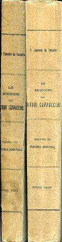 Le Missioni dei Minori Cappuccini. Sunto storico.: Clemente da Terzorio