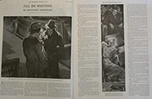 """First Publication of Raymond Chandler's Story """"I'll Be Waiting"""" in: The Saturday ..."""