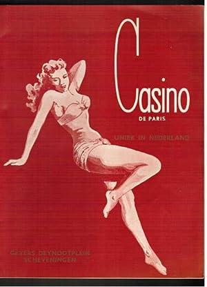 Uniek in Nederland. Programmheft 1955. Werbebroschüre.: Casino de Paris,