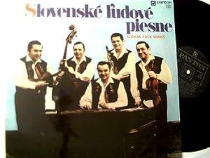 Slovenske l'udove piesne - Slowakische Volkslieder,: Farkas Band: