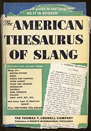 The American Thesaurus of Slang with Supplement.: Berrey, Lester V.