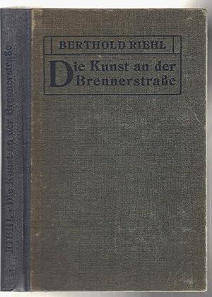 Bild des Verkäufers für Die Kunst an der Brennerstraße zum Verkauf von Antikvariat Valentinska