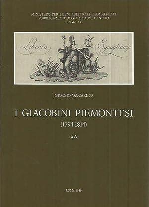 I giacobini piemontesi (1794-1814): Vaccarino, Giorgio