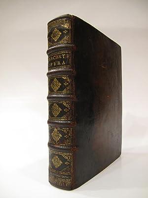 Principia Philosophiae. Ultima Editio.WITH: Specimina Philosophiae: seu: DESCARTES, RENE [1596-1650]