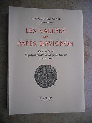 Les vallees des Papes d'Avignon - Essai: Francois de Ramel