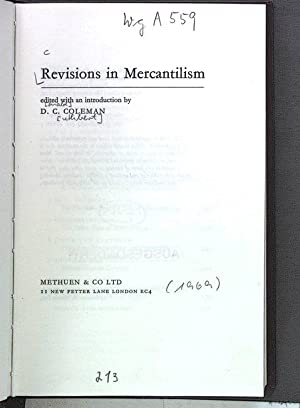 Revisions in Mercantilism.